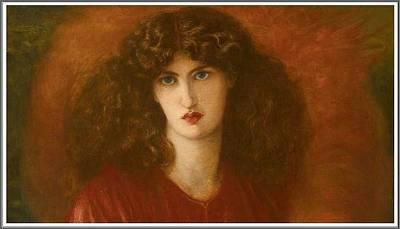 Keith Richards - Dante Gabriel Rossetti  1828-1882  Pandora - 1871 2 by Celestial Images