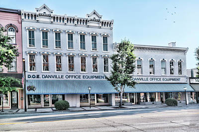 Photograph - Danville Office Equipment by Sharon Popek