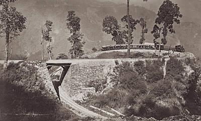 Darjeeling Train Art Print by Hulton Archive