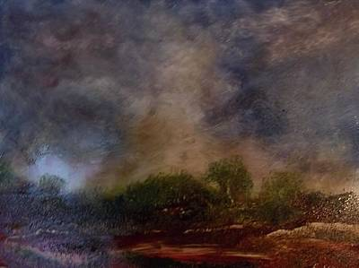 Painting - Dark Afternoon by Stephen King