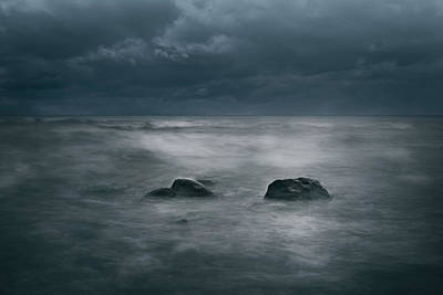Blue Hues - Dark and Stormy by Scott Norris