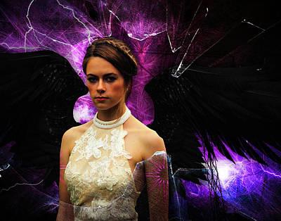 Digital Art - Dark Angel by Galatia420