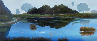 Painting - Dark Reflections by Gary Coleman
