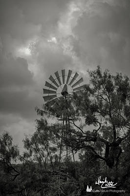 Photograph - Dark Windmill by David Cutts