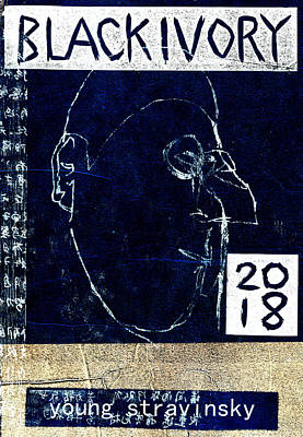 Relief - Dark Young Igor Stravinsky by Artist Dot