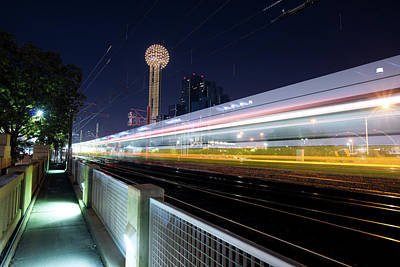 Photograph - Dart Crossing Commerce Dealey Plaza Dallas by Rospotte Photography