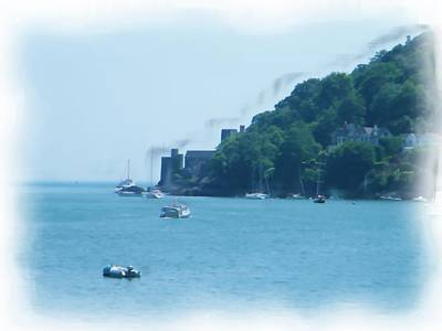 Digital Art - Dartmouth Castle Painting by JLowPhotos