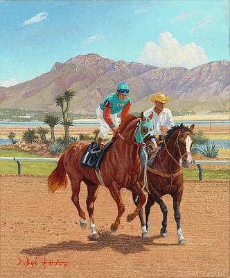 Painting - Dash For Cash by Howard DUBOIS