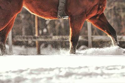 Dashing Through The Snow Art Print by JAMART Photography