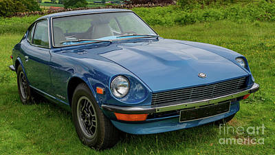 Photograph - Datsun 240z 1973 by Adrian Evans