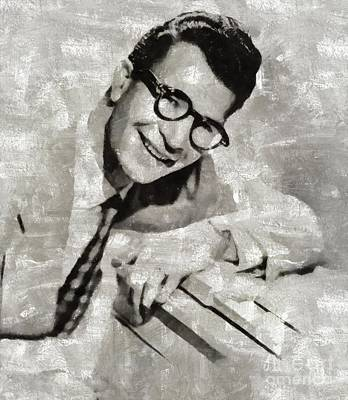 Music Paintings - Dave Brubeck, Music Legend by Esoterica Art Agency