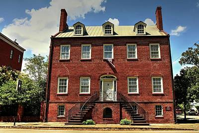 Photograph - Davenport House Savannah Georgia by Carol Montoya