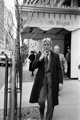 Vertical Photograph - David Bowie by Art Zelin
