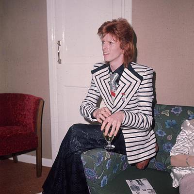 Photograph - David Bowie by Hulton Archive