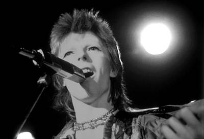 Photograph - David Bowie by Michael Ochs Archives