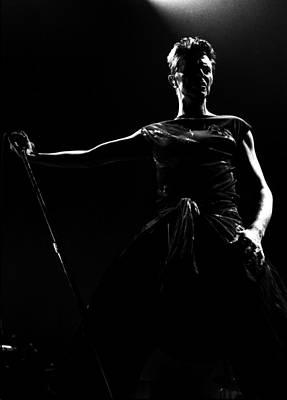 Photograph - David Bowie by Paul Bergen