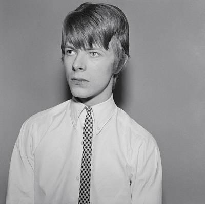 Photograph - David Bowie Portrait Session by Michael Ochs Archives