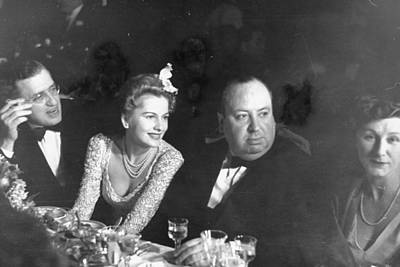 Photograph - David O. Selznickalfred Hitchcock & by Peter Stackpole