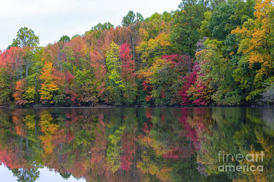 Photograph - Davidson's Mill Pond In Autumn  by Michael Ver Sprill