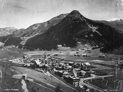 Davos Art Print by Hulton Archive