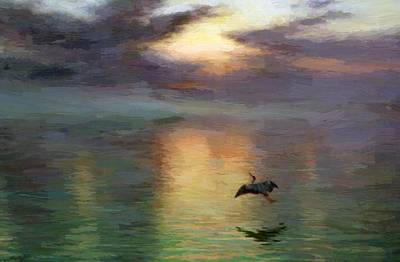 Joseph Farquharson Wall Art - Painting - Dawn 1903 by Farquharson Joseph