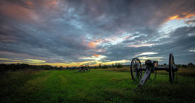 Photograph - Dawn At Gettysburg by Ronald Santini