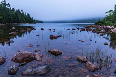 Photograph - Dawn At Jordan Pond by Stefan Mazzola