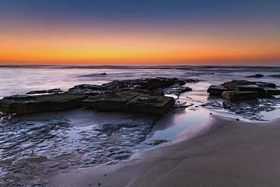Photograph - Dawn At The Beach by Merrillie Redden