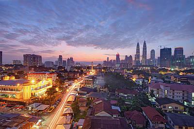 Photograph - Dawn In Kuala Lumpur by Tuah Roslan