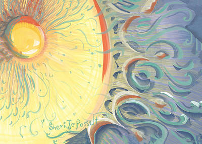 Painting - Dawn Of Changing by Sheri Jo Posselt