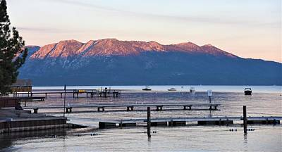 Photograph - Dawn Over Lake Tahoe by Lisa Dunn