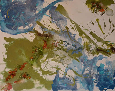Painting - Day Three by Laura Gabel