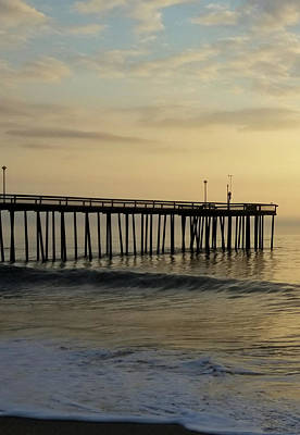 Photograph - Daybreak Over The Ocean 1 by Robert Banach