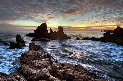 Photograph - Days End Corona Del Mar Sunset by Cliff Wassmann