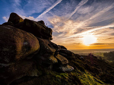 Photo Royalty Free Images - Days End Royalty-Free Image by Iain Merchant
