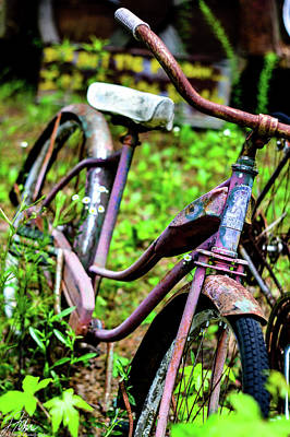 Wall Art - Photograph - Days Gone By - Bicycle 1 by James Fisher