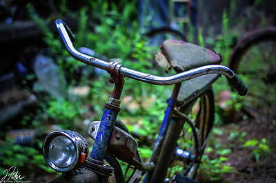 Wall Art - Photograph - Days Gone By - Bicycle 2 by James Fisher