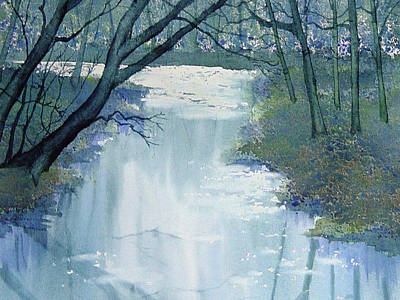 Painting - Dazzle On The Derwent by Glenn Marshall