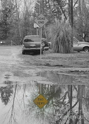 Photograph - Dead End Or End Dead by Marie Neder