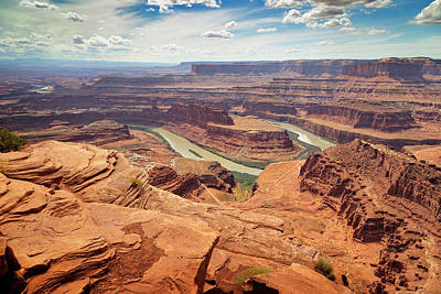 Firefighter Patents - Dead Horse Point State Park 7 by Ricky Barnard