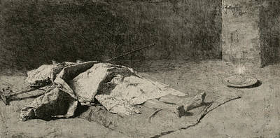 Relief - Dead Kabyle by Maria Fortuny