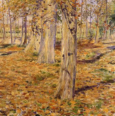 Painting - Dead Leaves by Kuroda Seiki
