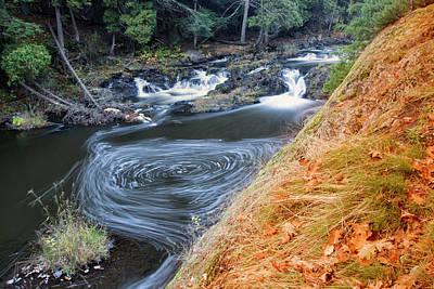 Photograph - Dead River Falls - Marquette, Michigan by Rick Veldman