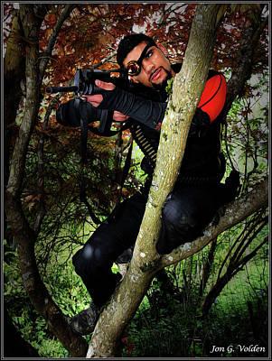 Photograph - Deadshot by Jon Volden