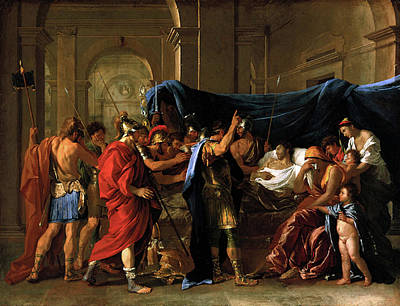 Painting - Death Of Germanicus  by Nicolas Poussin