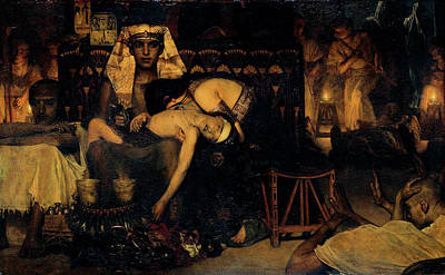 Painting - Death Of The Firstborn by Sir Lawrence Alma Tadema