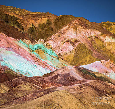 Photograph - Death Valley Artist's Palette #2 by Blake Webster