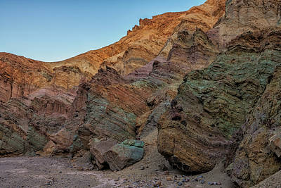 Photograph - Death Valley Colors by Loree Johnson