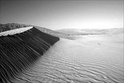 Photograph - Death Valley Dunes by Gary Koutsoubis