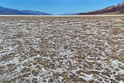 Photograph - Death Valley Floor by KJ Swan